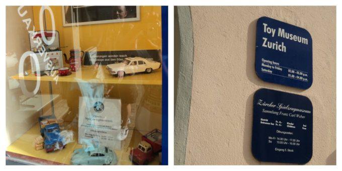 Liburan Swiss Part 5 - Pusat kota Zürich. Depan Museum Mainan Zürich. Toys Museum