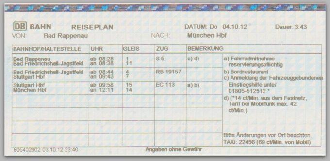 Ramainya Bulan Oktober di München. Jadwal Kereta Bisa Print Out di Mesin Pembelian Tiket atau dari Internet (Foto: dok. pribadi)