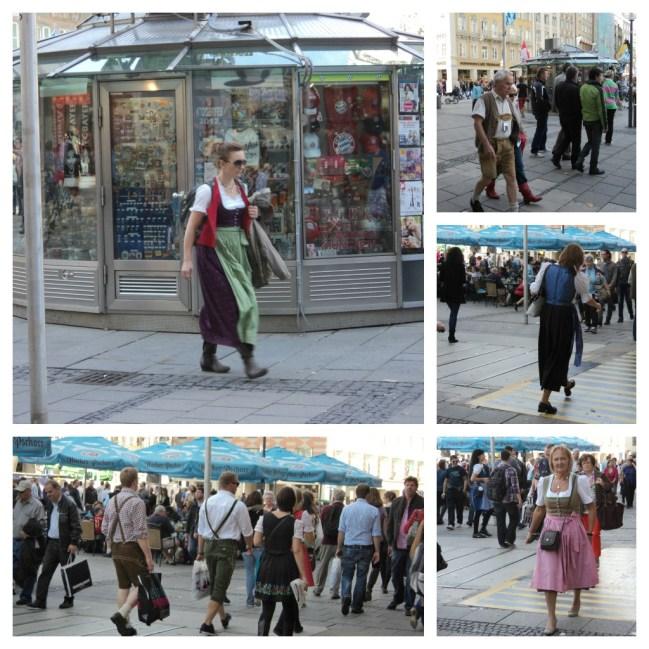 Model pakaian Oktoberfest (Foto: dok. pribadi)