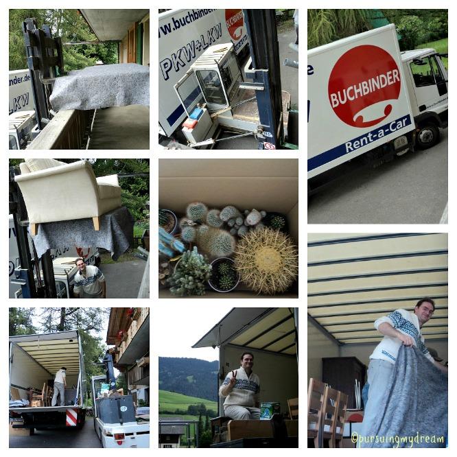 Pindahan Rumah dari Swiss ke Jerman. 26.07.2011