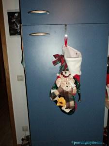 My Christmas Sock. Weihnachtssocken