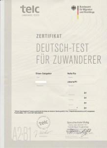 B1 Sertifikat. Deutschtest für Zuwanderer