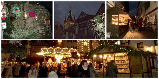 Christmas Market Bad Wimpfen Germany Nov  2012