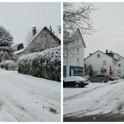 Jalanan di tutupi Salju