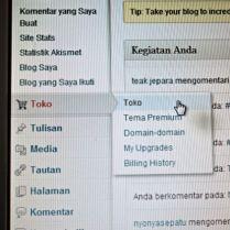 Cara Upgrade Domain Melalui Toko Wordpress