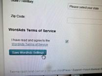 Jangan Lupa di Bagian Paling Bawah klik kolom sudah Mengerti Term Servicenya dan klik Save