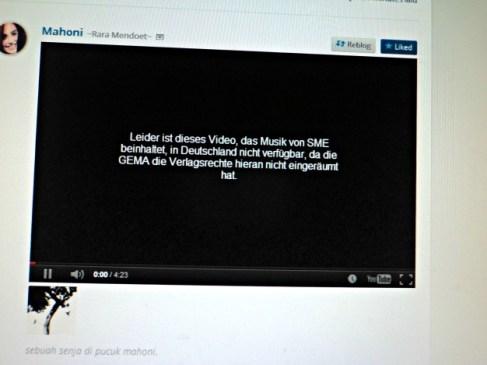 Video di Blog Rara Juga ga bisa dilihat, maaf yaa