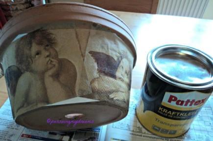 Karya Keempat, Pot dilapisi Kertas HVS dulu