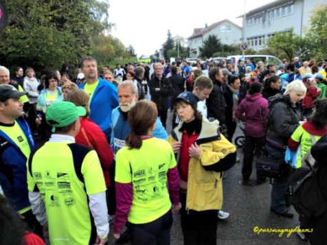 Walau udara dingin sampai ketulang namun semua peserta tetap semangat Mengikuti Lomba