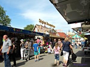 Pasar Malam di Jerman. Talmarkt di Bad Wimpfen