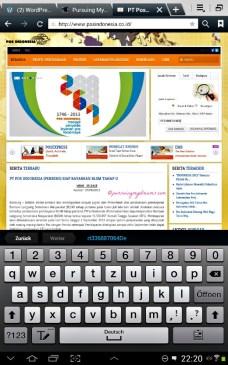 Kalau mau cek barang kiriman dari Luar negeri yang dikirim melalui Pos, masuk ke websitenya Pos Indonesia