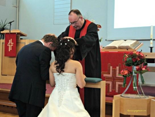 Pemberkatan Pernikahan Temanku