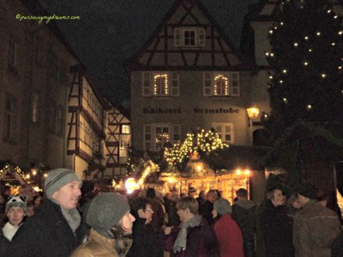 Pasar Natal di Jerman. Christmas market 2013 in Bad Wimpfen Germany