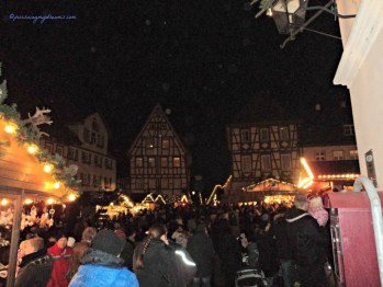 Christmas market in Bad Wimpfen Germany