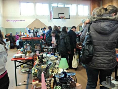 Flea Market in Sinsheim Germany