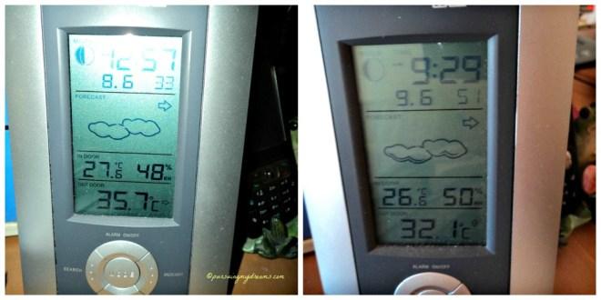 Temperatur Musim Panas 2014