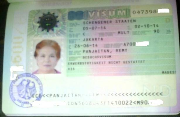 pengalaman mengurus visa schengen