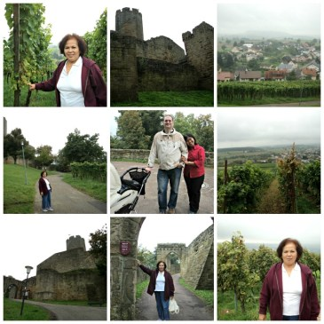 Jalan-jalan ke kastle di Sinheim