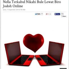 Mejeng di koran online