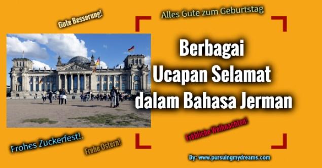 Ucapan Selamat dalam Bahasa Jerman