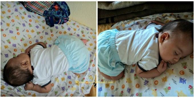 Salah Satu gaya Tidur Favoritnya Ben