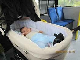 Naik buspun bisa tidur pulas
