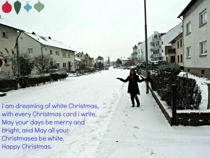 Merry Christmas, Selamat Natal 2014. Snowing Des 2012