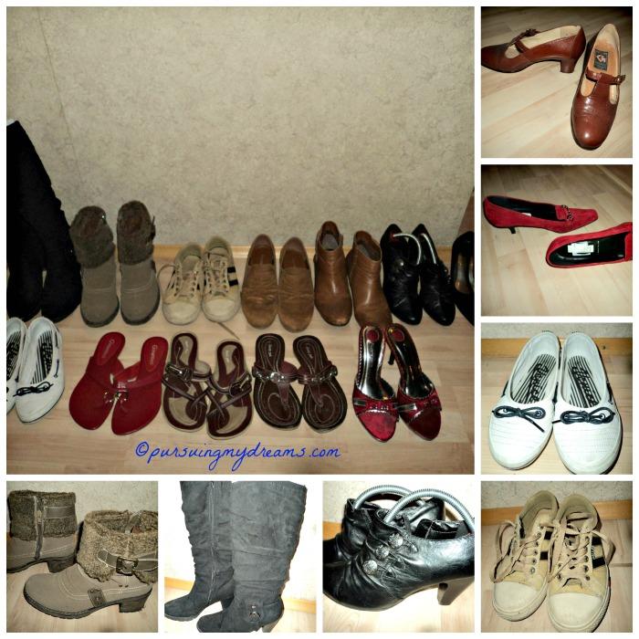 Berapa pasang sepatu yang kamu miliki