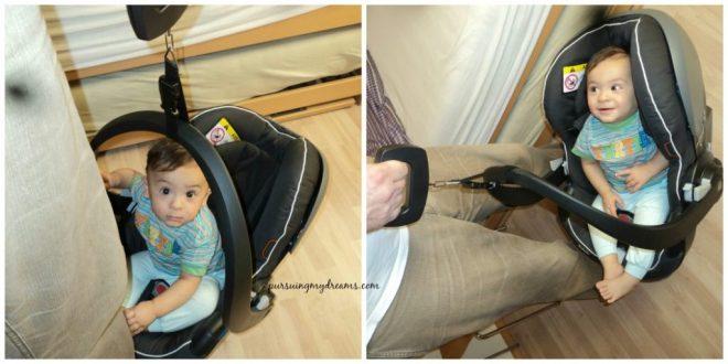 Baby car seat dipakai hanya buat nimbang badan Ben