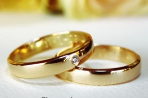 wedding and ring