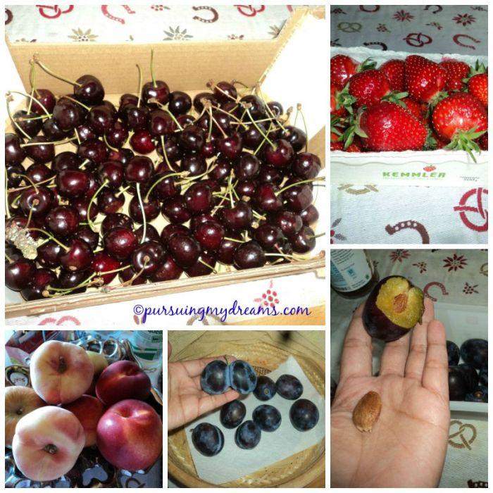Buah-buahan musim panas