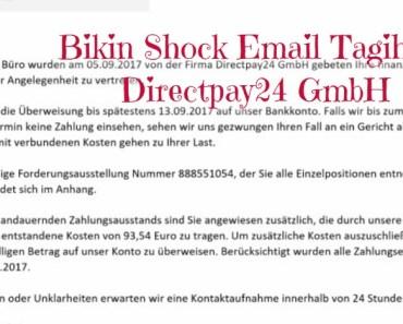 Bikin Shock Email Tagihan Directpay24 GmbH. Email Virus Trojan