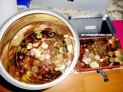 Menukarkan Recehan Logam Euro di Hari Menabung Sedunia