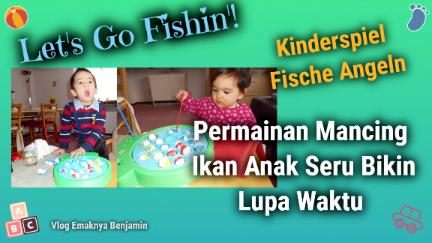 Mainan Anak Mancing Ikan Seru Bikin Lupa Waktu