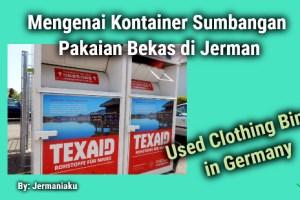 Mengenai Kontainer Sumbangan Pakaian Bekas di Jerman