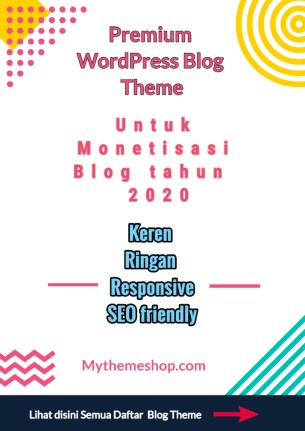 Theme Blog Premium Bagus