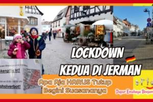 Lockdown Kedua di Jerman di Perpanjang Salon Buka Resto Harus Tutup Berikut Aturan lainnya