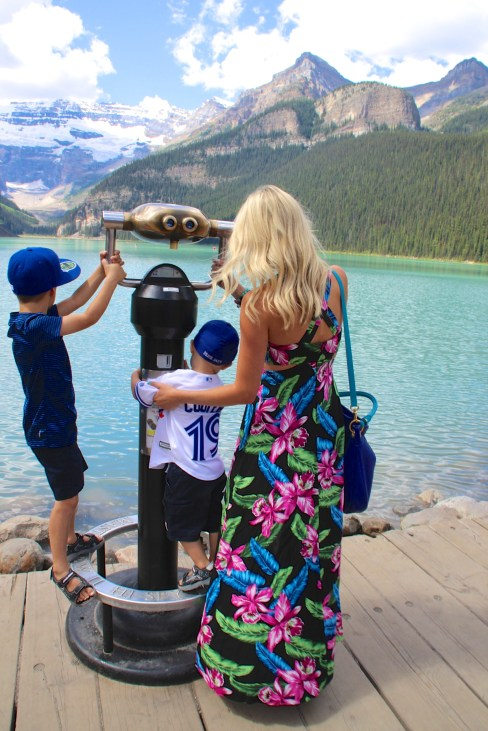 Lake Louise photoshoot