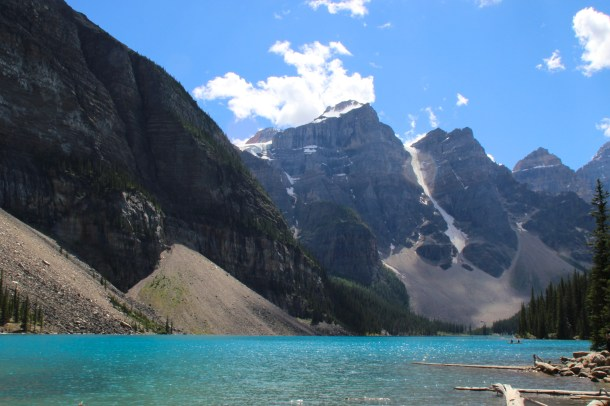 blue water lake canada