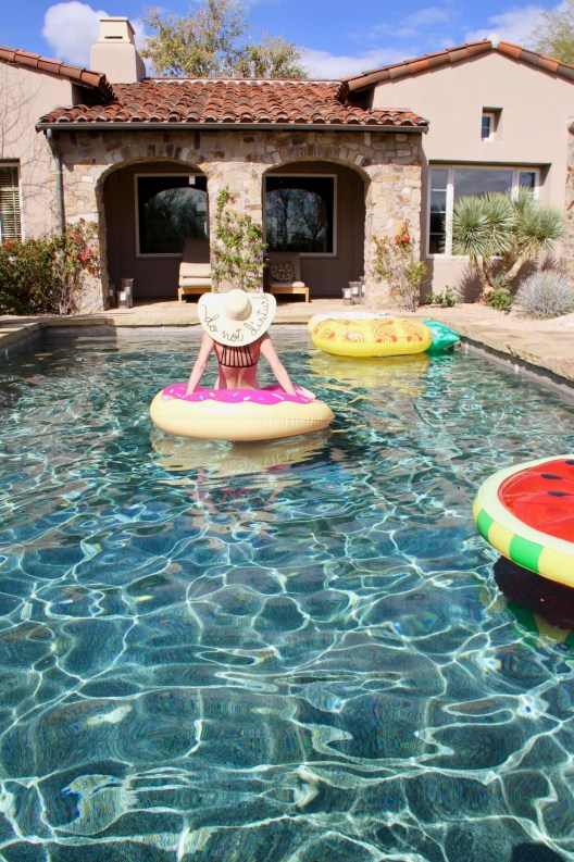 Scottsdale, Arizona is the prefect vacation destination for warm temperatures