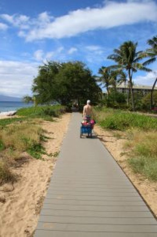 Maui Beach Boardwalk