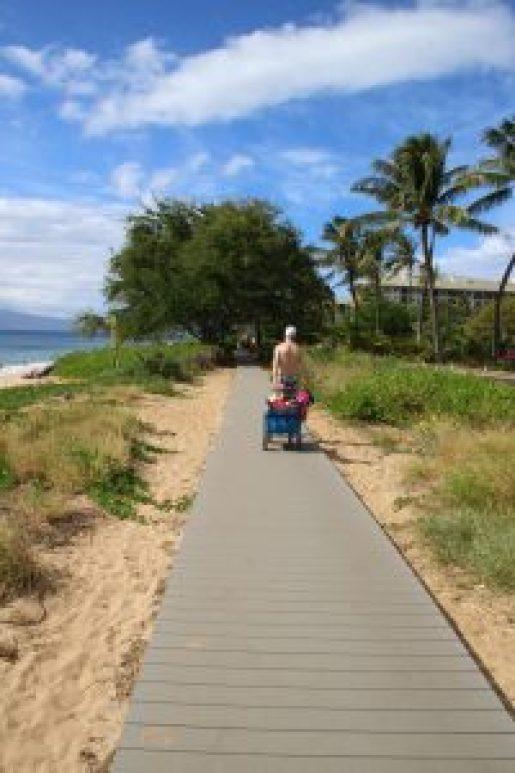 Maui Beach Boardwalk
