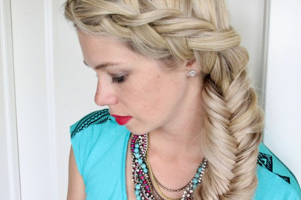 DIY: How to do a side Dutch to Fishtail braid - YouTube video tutorial