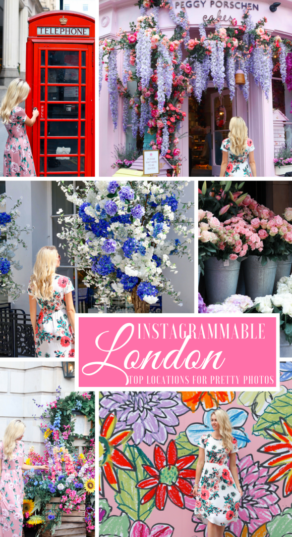 Instagrammable London- the prettiest places to get Instagram-worthy photos in London, England