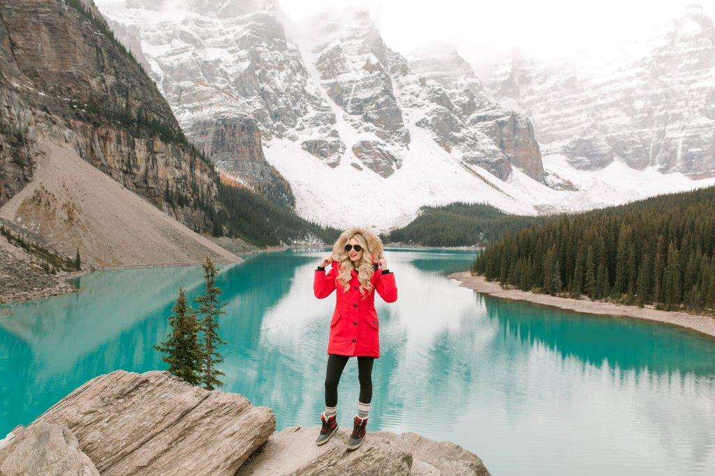 Bucket List Travel Destination: Moraine Lake, Alberta, Canada -photography in fall