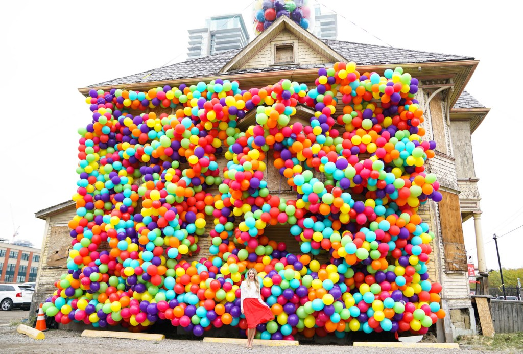 Beakerhead Calgary Balloon House - Instagram Pursuing Pretty