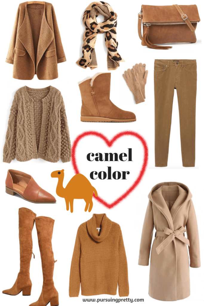 Camel Colour Clothing Craze! Shop the must-haves for the fall and winter season!