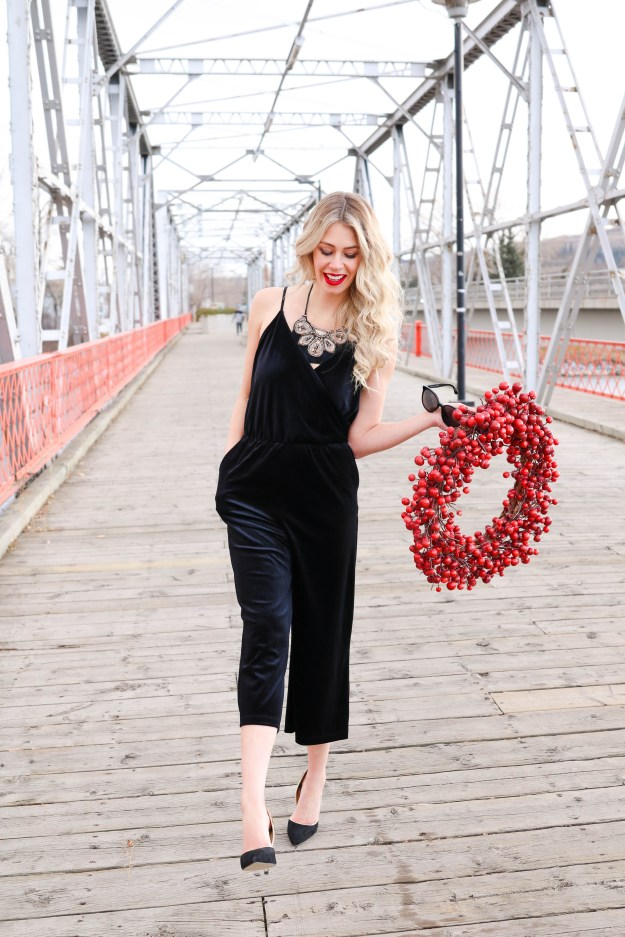 Style for a Steal! What to wear for the holidays and spend less than $50! Velvet Holiday looks under $50!