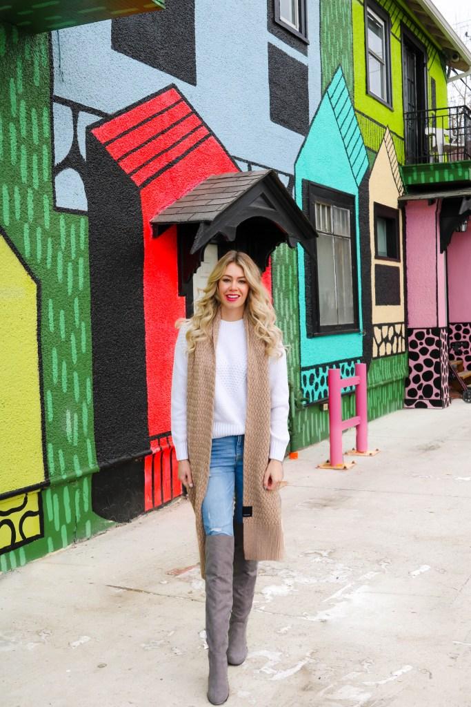 Instagram Walls in Calgary - Casual weekend style
