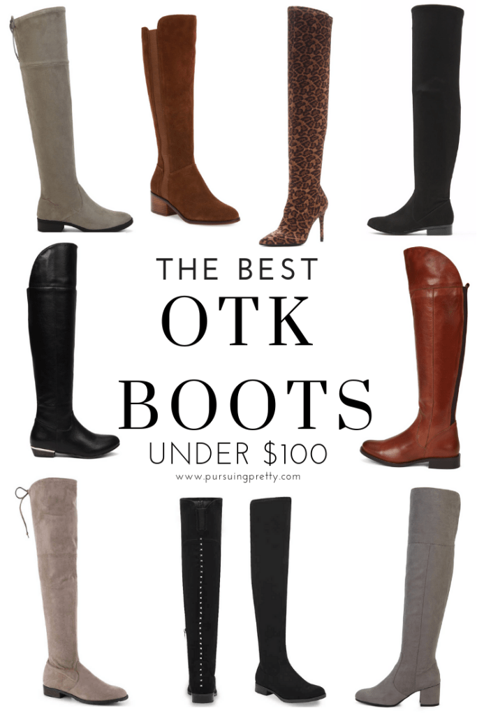 The BEST OTK BOOTS under $100! How to wear and style over-the-knee boots and save big on this year's hottest trend!